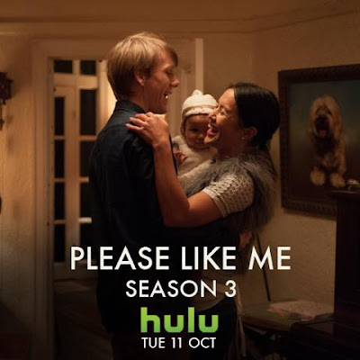 This Tuesday American time season 3 of Please like me is coming to Hulu
