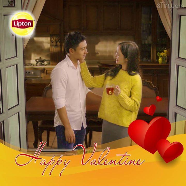 Công thức cho buổi hẹn hò Valentine ấm áp: 2 tách Lipton