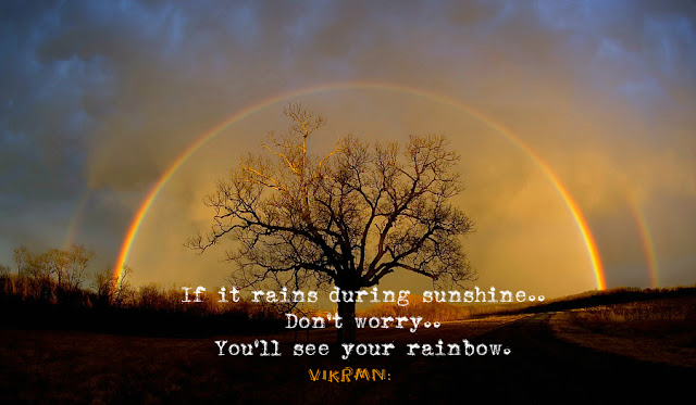 sunshine_rainbow_quote_vikrmn_author_ca_verma_10alone_kuwait_chartered_accountant