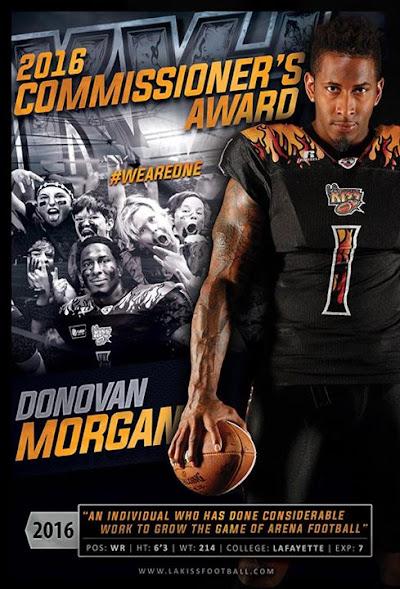 READ: Donovan Morgan Chosen For Commissioner's Award