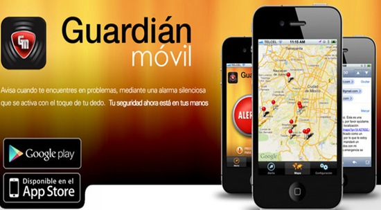 guardián-móvil.aplicatie Android-Apple