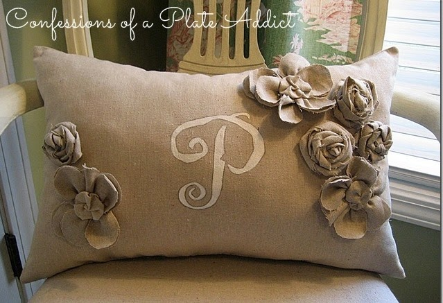 CONFESSIONS OF A PLATE ADDICT Pottery Barn Inspired Frenchy Pillow