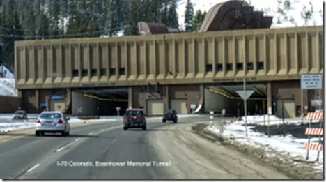 I-70 Colorado, Eisenhower Memorial Tunnel