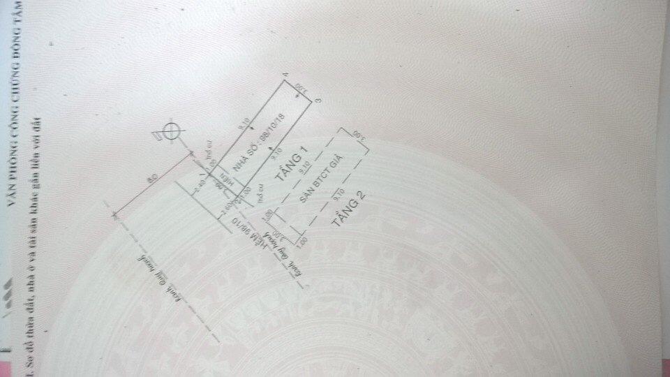 Bán nhà đường Tây Thạnh Quận Tân Phú, hẻm 2 sẹc, diện tích 3mx11m, 1 trệt 1 lầu, giá 2,68 tỷ.