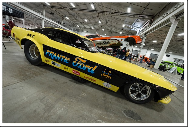 Rocky Pirrone's Frantic Ford Funny Car