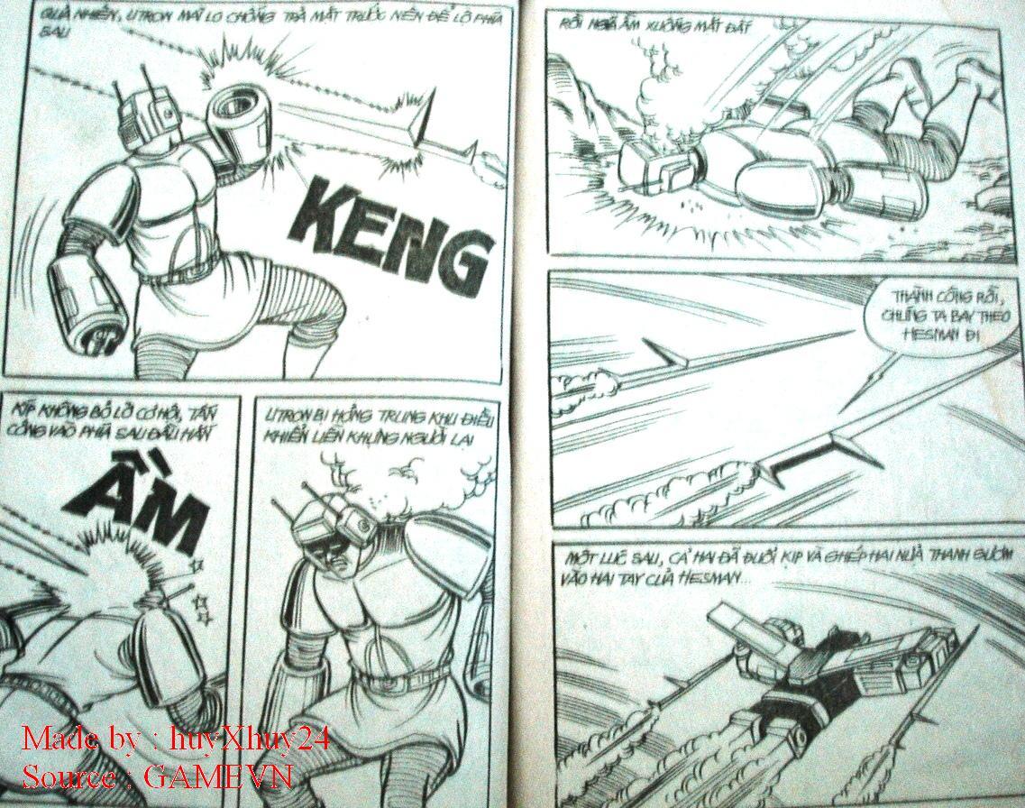 Dũng Sĩ Hesman chap 26 trang 26