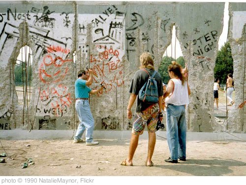 'Berlin Wall' photo (c) 1990, NatalieMaynor - license: http://creativecommons.org/licenses/by/2.0/