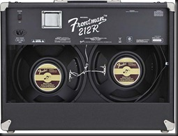 fender frontaman 212 amp wats 100 back