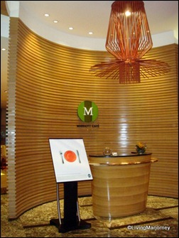 Marriott Café's Entrance