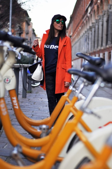 outfit, sweatshirt chanel, fashion week milan, gossip girl, italian fashion bloggers, fashion bloggers, street style, zagufashion, valentina coco, i migliori fashion blogger italiani