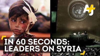 In 60 seconds As world leaders bemoan the tragedy in Syria these