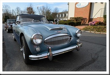 Katie's Cars and Coffee - Austin Healey