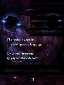 The unique aspects of psychopathic language Cover