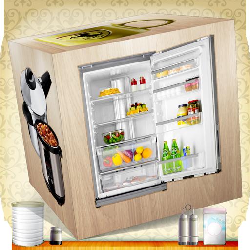 厨房3D益智积木的教育游戏为孩子们 休閒 LOGO-阿達玩APP