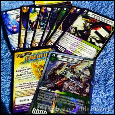 Kaijudo Shattered Dimensions Trading Cards