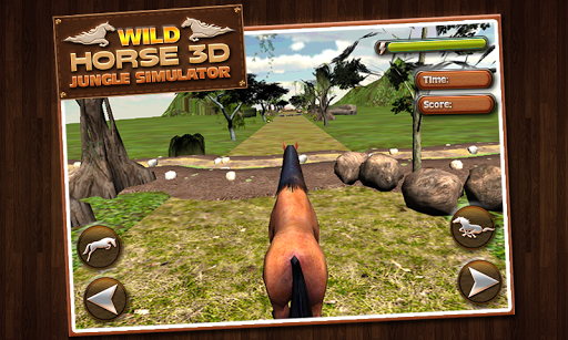 Wild Horse Jungle Simulator 3D