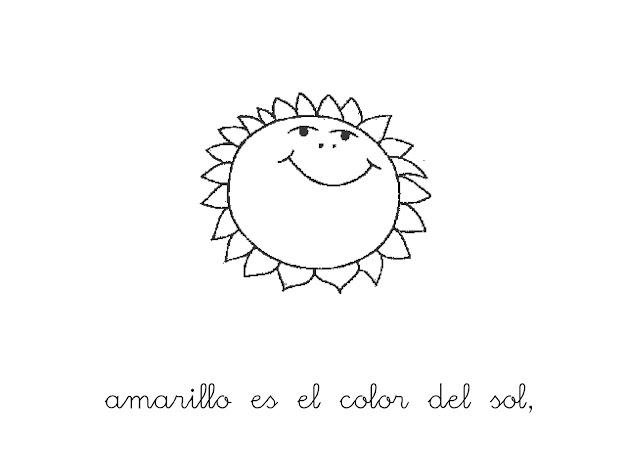Dibujos De Color Amarillo Para Colorear