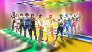 Zyuden Sentai Kyoryuger Returns: 100 YEARS AFTER