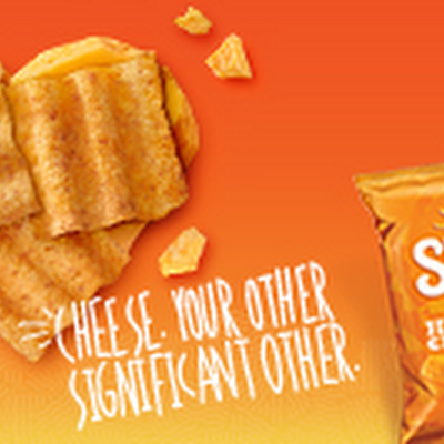 A tasty whole grain snack that gets your oneofakind relationship with cheddar