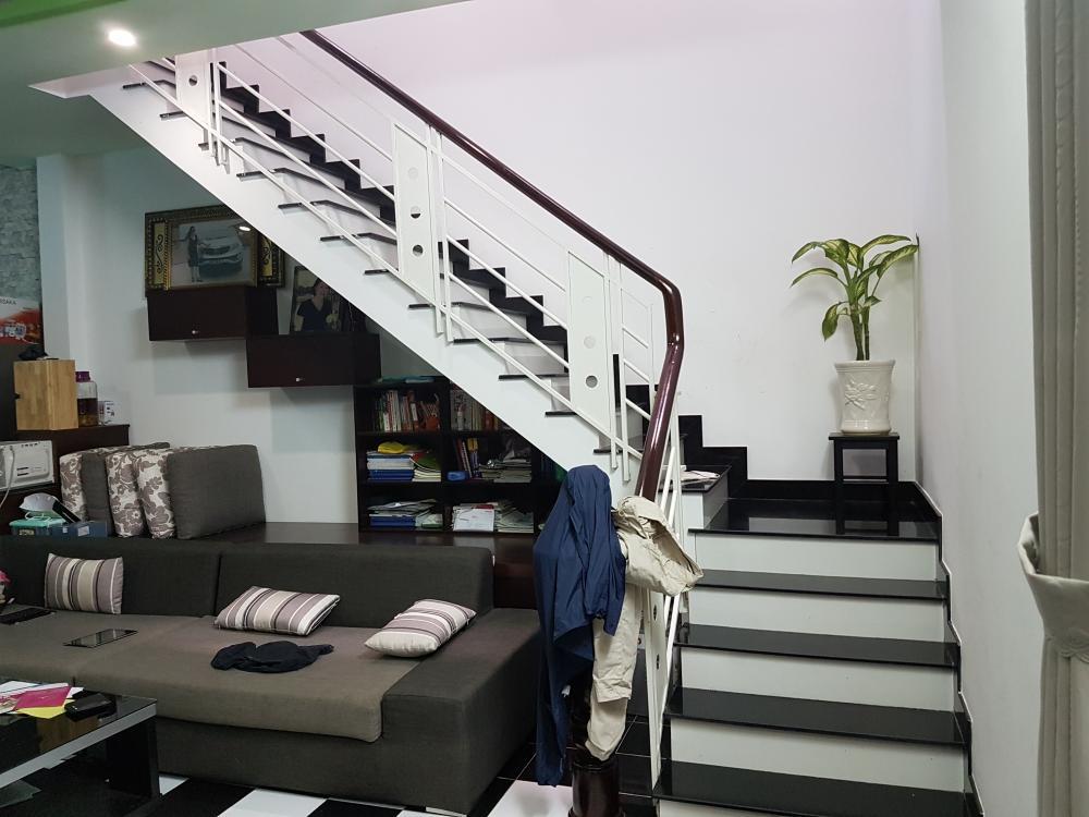Nhà mặt tiền Đường Nguyễn Sơn 1 trệt 2 lầu và sân thượng trước sau 03