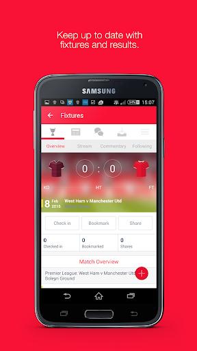 Fan App for Manchester United