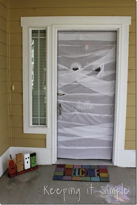 Halloween Decoration Mummy Door (6)
