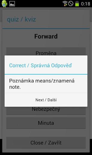 【免費教育App】Czech Vocabulary-APP點子