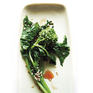 Broccoli Rabe with Sesame and Soy