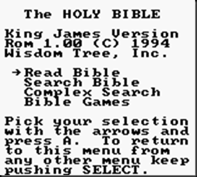 King James Bible (USA) (Unl)