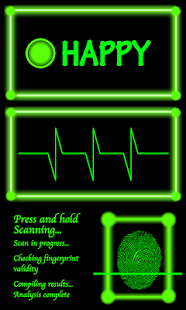Fingerprint Scanner, Mood Scan - screenshot thumbnail