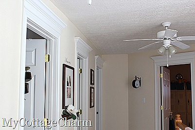 My Cottage Charm: How to Add Molding to Your Doors- Door