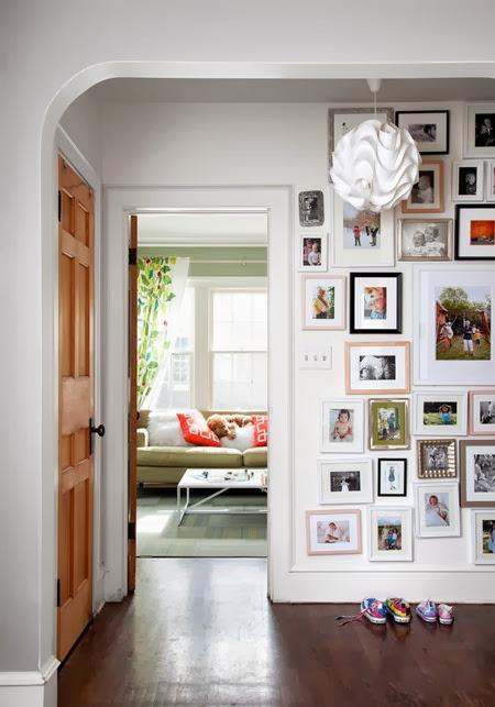 family-photo-wall
