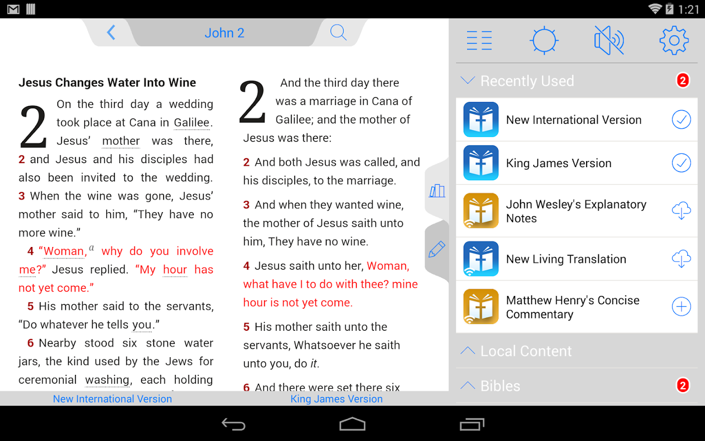 Message Bible - screenshot