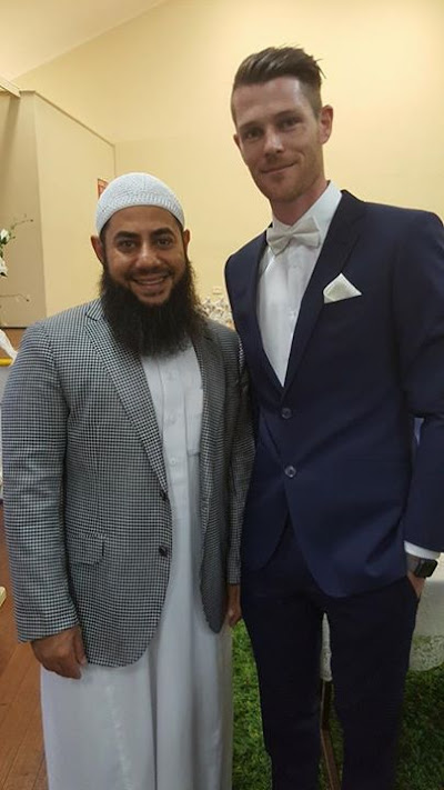 InterCultural marriages still going strong amongst Muslims in Australia Mark pictured on