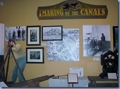 7872 St. Catharines - Welland Canals Centre at Lock 3 - inside Museum