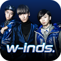 w-inds. Official App icon