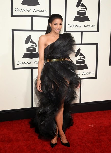 Ciara attends The 57th Annual GRAMMY Awards