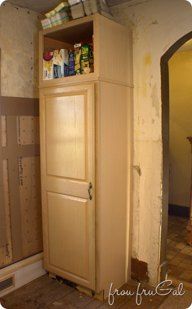 Kitchen - Pantry Before