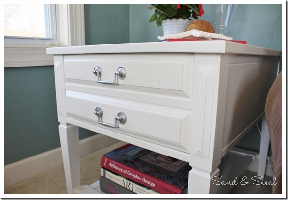 painted Mersman side table
