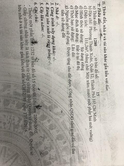Bán nhà và đất thổ cư đường Thạnh Xuân Quận 12 -05