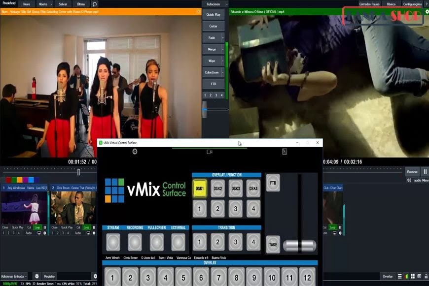 Hướng dẫn livestream bằng vMix