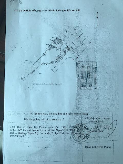 Bán đất chính chủ Mặt Tiền Đường Nguyễn Thị Định Phường Thạnh Mỹ Lợi Quận 2 Tp HCM 3