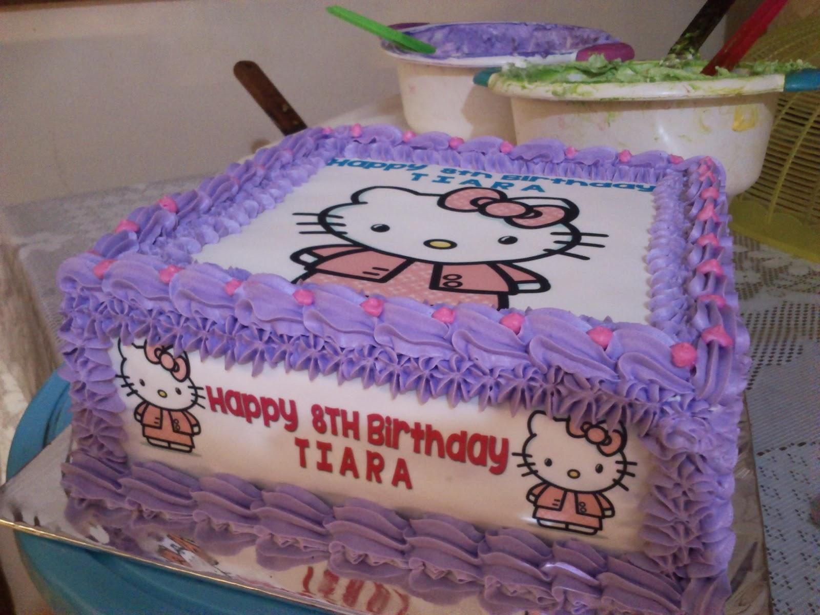 Toko Kue Bolu Enak Tart Foto Hello Kitty