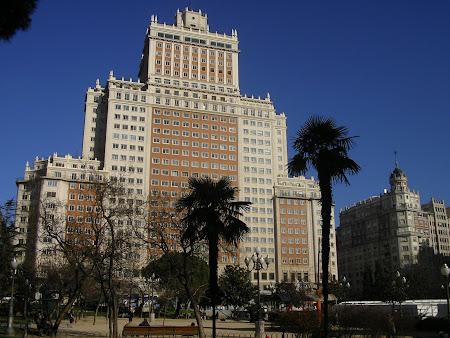 Obiective turistice Madrid: Plaza Espana