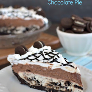 Cookies and Cream Chocolate Pie