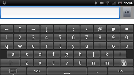 Hard Key Soft Keyboard