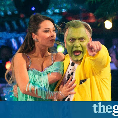 What a Carreyon Strictly hits series high as Ed Balls goes green