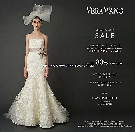 Vera Wang Bridal SALE gown dresses lace evening wear accessories bags shoes lace fascinator hats gloves bracelets pearl necklace The Link Sample clearance Grand Hyatt
