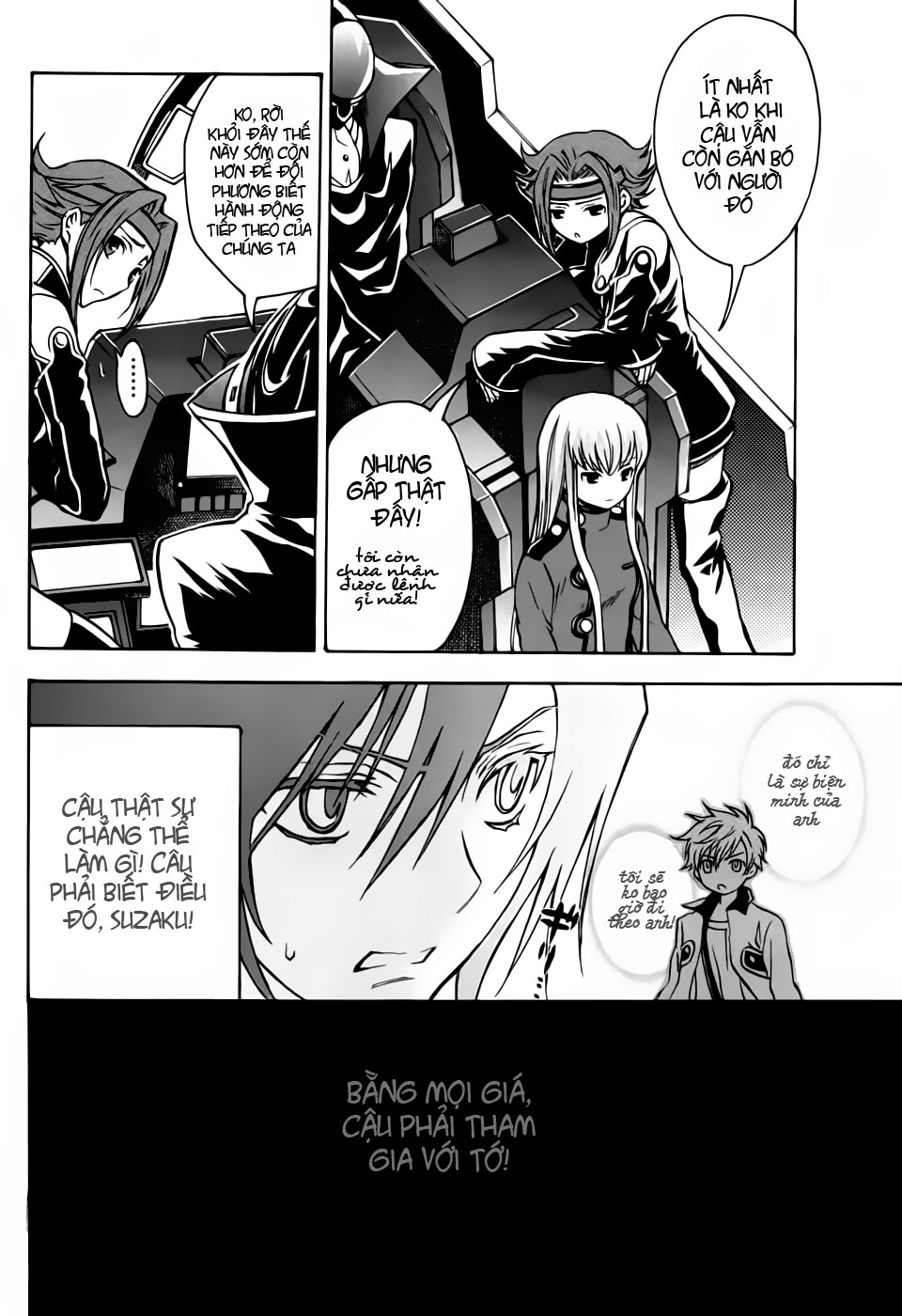 Code Geass: Lelouch Of The Rebellion Chap 016