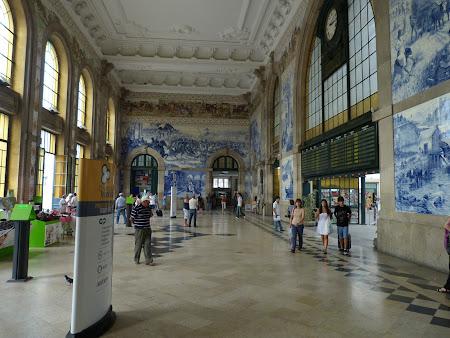 Obiective turistice Porto: gara feroviara Porto